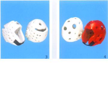 NBR foam-made head guards