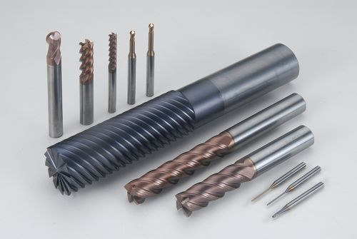 Coated square end mills
