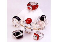 Artificial jewellery ring