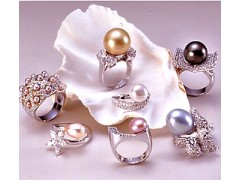 Artificial pearl ring