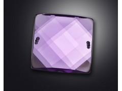 2 holes of square shape earth surface acrylic rhinestone
