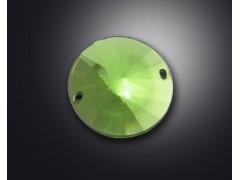 2 holes of satellite stone acrylic rhinestone