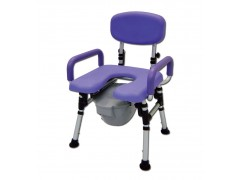 FOLDABLE SHOWER/ COMMODE CHAIR