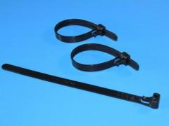 RELEASABLE FASTENER CABLE TIE
