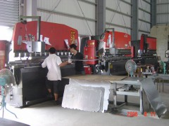 Metal plate molding and processing