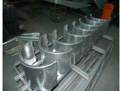 Aluminum and  galvanized sheet fender trim