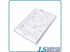h051ah heart shape private label eyeshadow palette