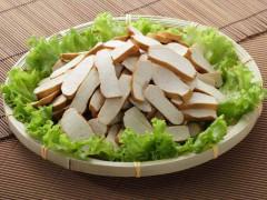 Sliced dried tofu