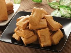 Shredded dried tofu