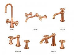 Industrial loft style bathroom faucets, series 11