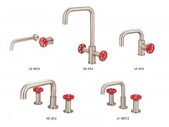 Industrial loft style bathroom faucets, series 12