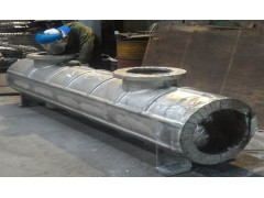 High pressure conveying pipe