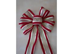 Slit ribbon pre tie bow
