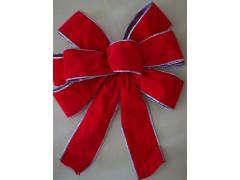 Slit velvet pre tie bow