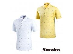 Snowbee Line Jacquard Polo Shirt