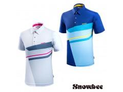 Snowbee Block Geometry Polo shirt