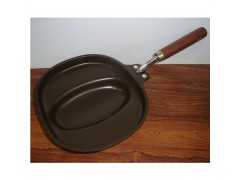 Die-casting non-stick easy Omelette Cooking Pan