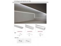 Aluminum linear light