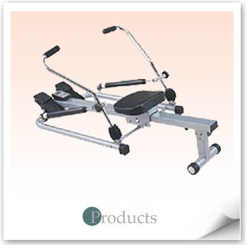 Rowing Machine w/Sculling Action