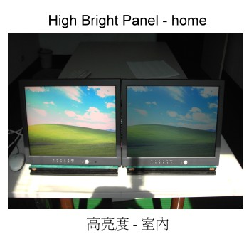 High Bright Panel - home