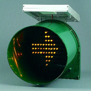 Solar Traffic Light To Indicator Left and Right