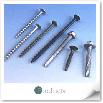 Ruspert-Coated Screws and Bolts