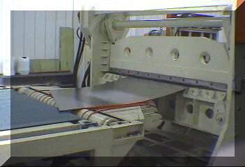 Steel Sheet Straightening & Rotating Shearing Machine