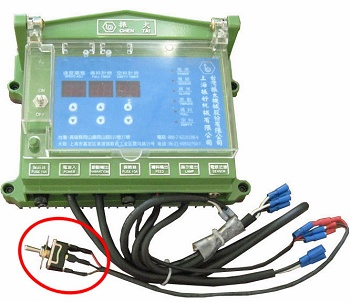Microcomputer controller-External Switch