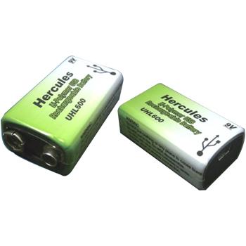 Hercules Mini USB 9V Battery