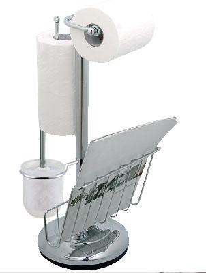 Toilet Brush Stands   F5526-SPC &Toilet Tissue Holders