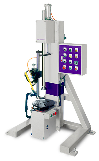 VERTICAL TYPE AUTOMATIC CIRCUMFERENCE WELDING MACHINE