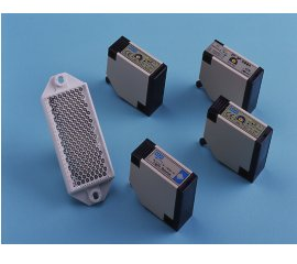 Angular Plastic Housing Photoelectric Sensors (DC-4wire, 6 in 1)
