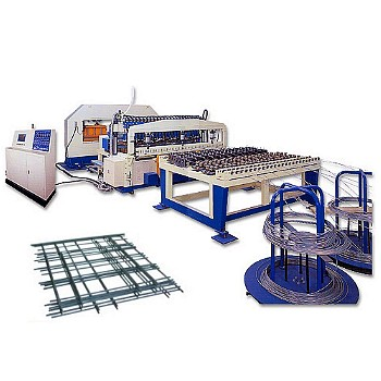 Column type multi-spot mesh welding machine(120KVAx6 sets transformer)(CTC-2400-6TR)