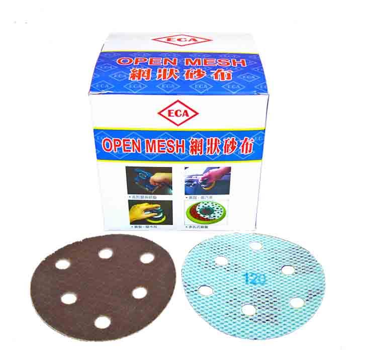 Back-Floss Semi-Shape Netted Abrasive cloth