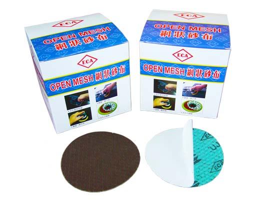Self-Adhesive Semi-Shape Netted Abrasive Cloth