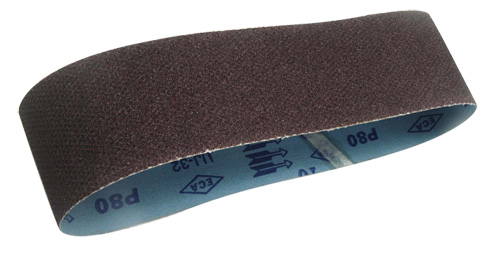 Semi-Shape Netted Abrasive Cloth Belt