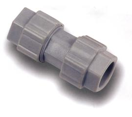 Plastic ABS Single Tube Connector
