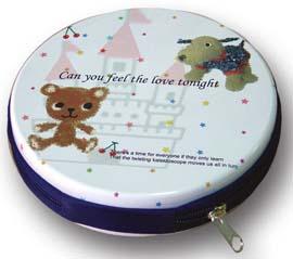 Colorful CD Storage Box