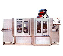 Automatic bottle spray washer & filler & capper