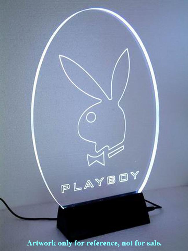 Playboy LED color-changed display