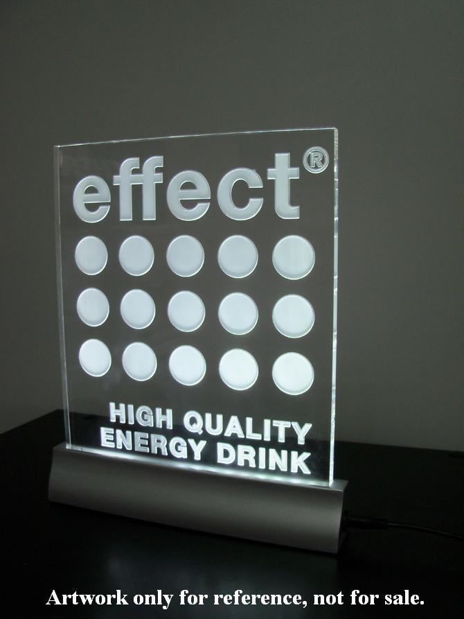 led counter holder / led display holder / acrylic display / led sign