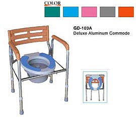 Foldable Commode