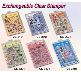 Exahangeable Clear Stamper