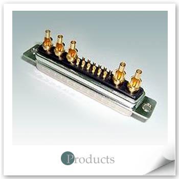 Coaxial Solder 17W5 Male 50 or 75 ohms